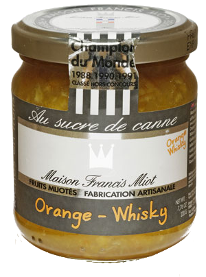 Confiture Francis Miot <br> Orange-Whisky